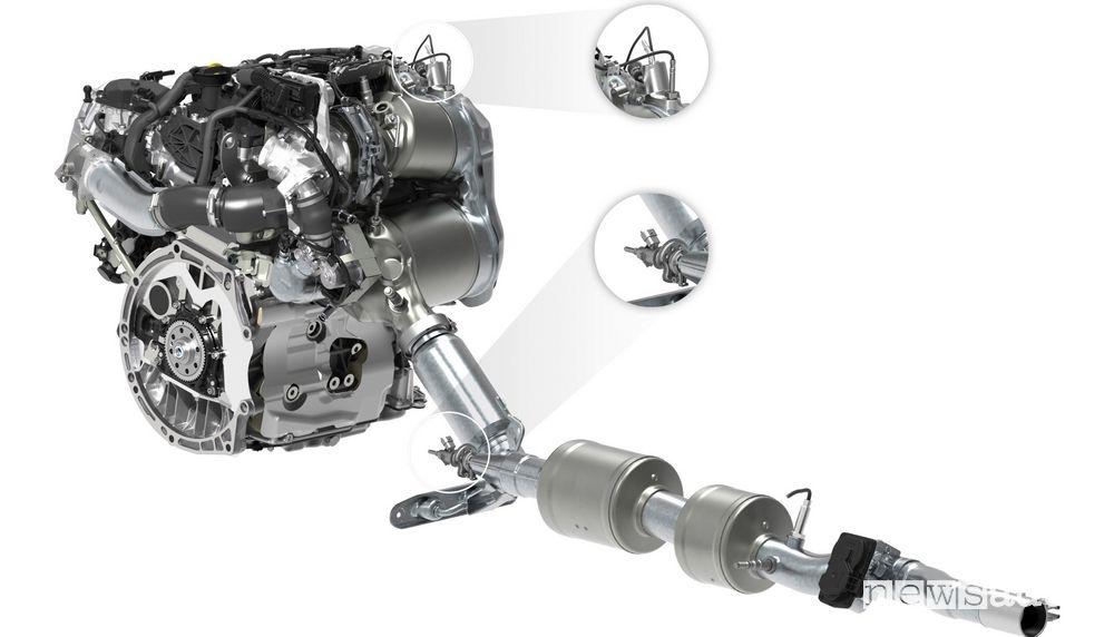 Tecnologia twin dosing Volkswagen, con due catalizzatori SCR che lavorano in serie