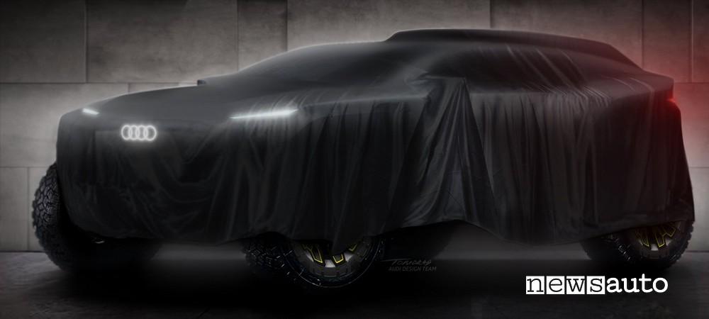 SUV elettrico Rally Audi