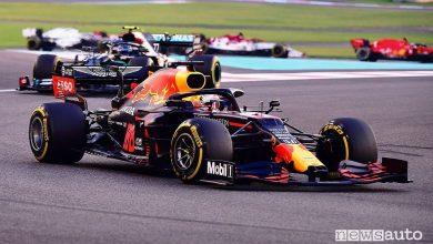 Photo of F1 Gp Abu Dhabi, vittoria per Verstappen e la Red Bull Honda [foto classifiche]