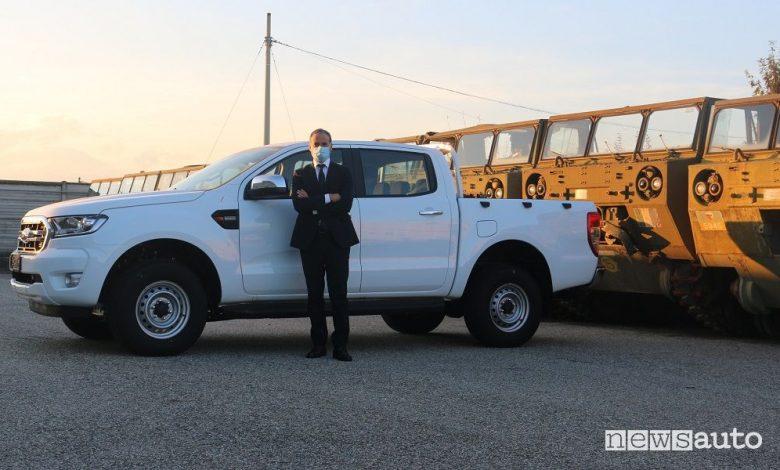 Ford Ranger doppia cabina all'Esercito Italiano