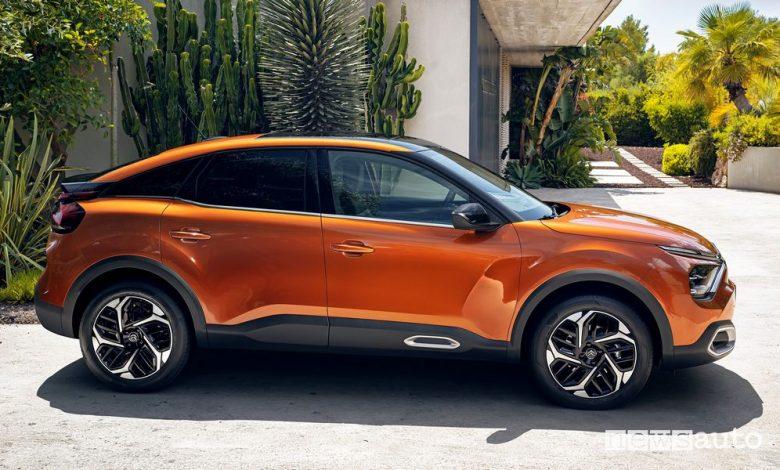 Nuova Citroën ë-C4