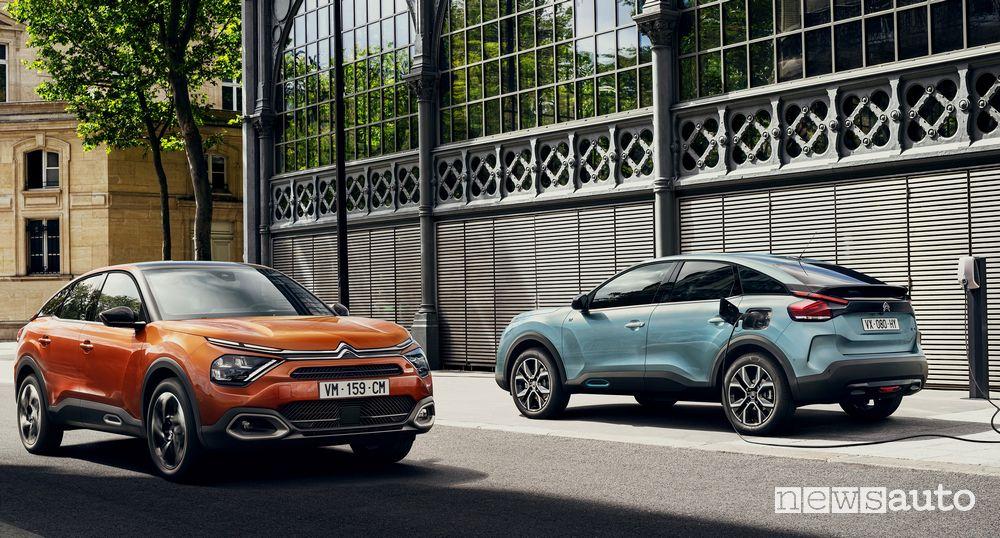 Nuove Citroën C4 e ë-C4 - 100% ëlectric