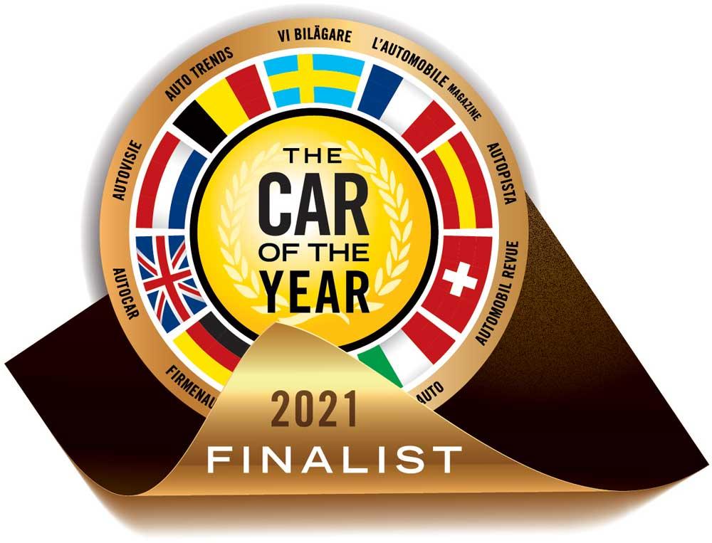Logo Premio Auto dell'Anno Car of The Years 2021
