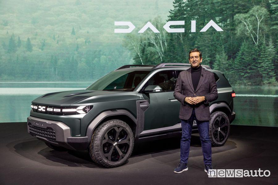Alejandro Mesonero Romanos, Direttore Design di Dacia