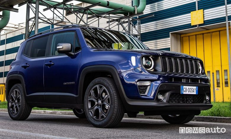 Jeep Renegade 80° Anniversario, caratteristiche e prezzi serie speciale