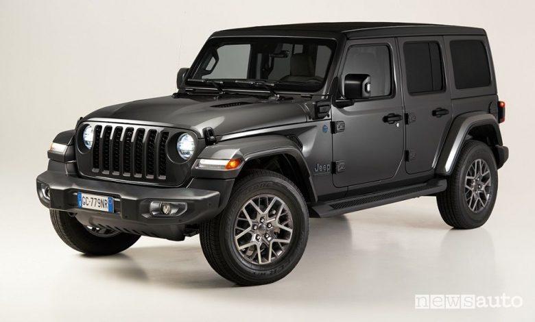 Jeep Wrangler 4xe First Edition ibrida plug-in