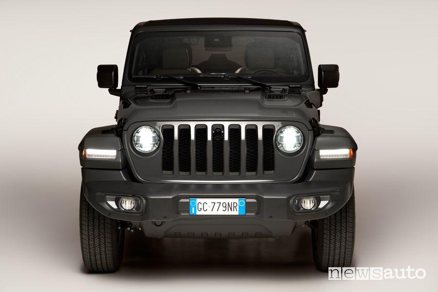 Griglia frontale a 7 feritoie Jeep Wrangler 4xe First Edition