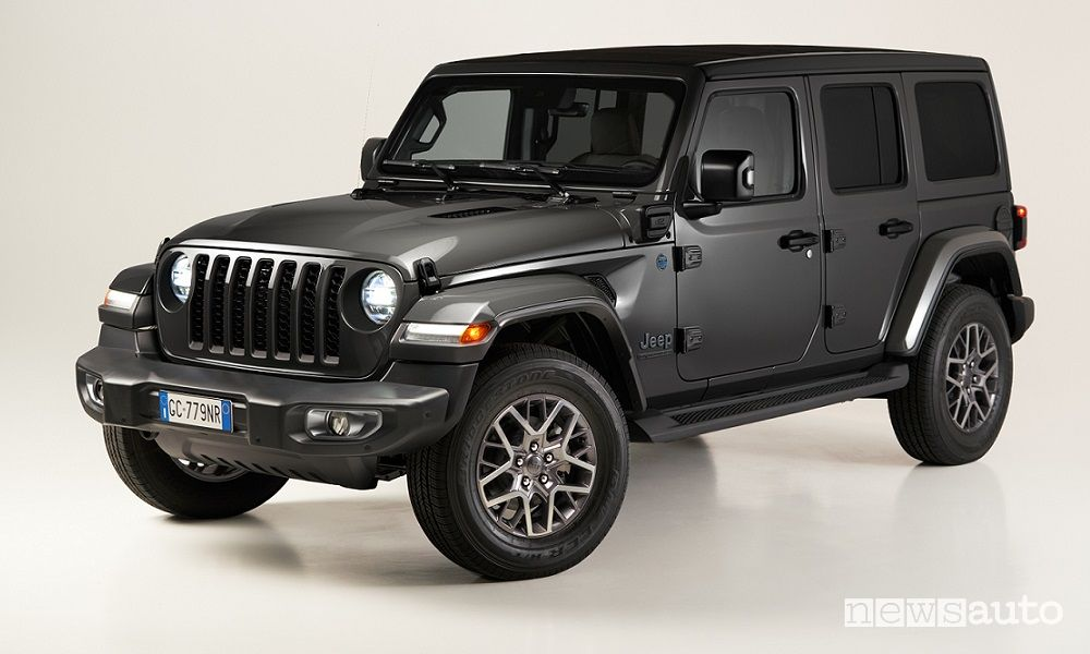 Jeep Wrangler 4xe First Edition ibrida plug-in