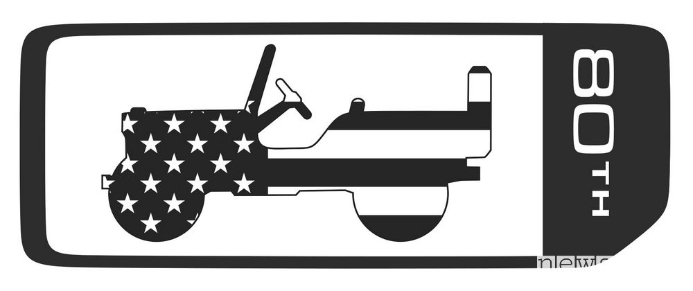 Logo Jeep 80th Anniversary