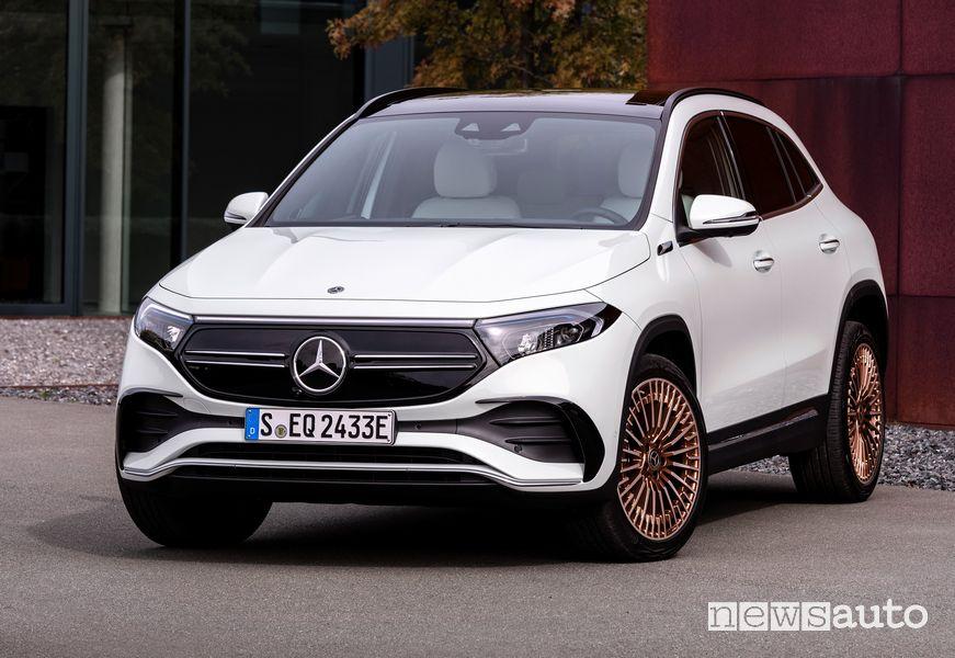 Vista di profilo Mercedes-Benz EQA Edition 1