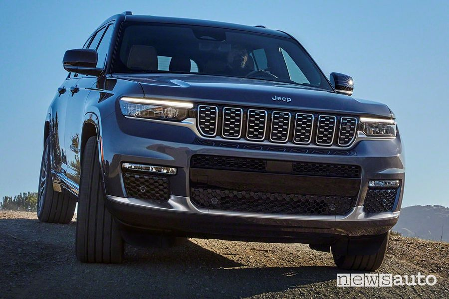 Griglia anteriore nuova Jeep Grand Cherokee L Summit