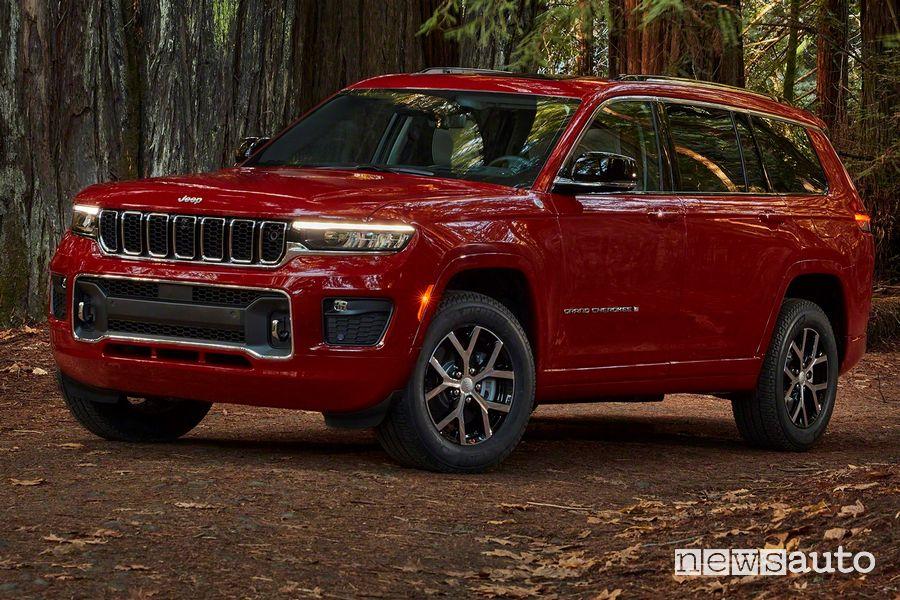 Nuova Jeep Grand Cherokee L Overland