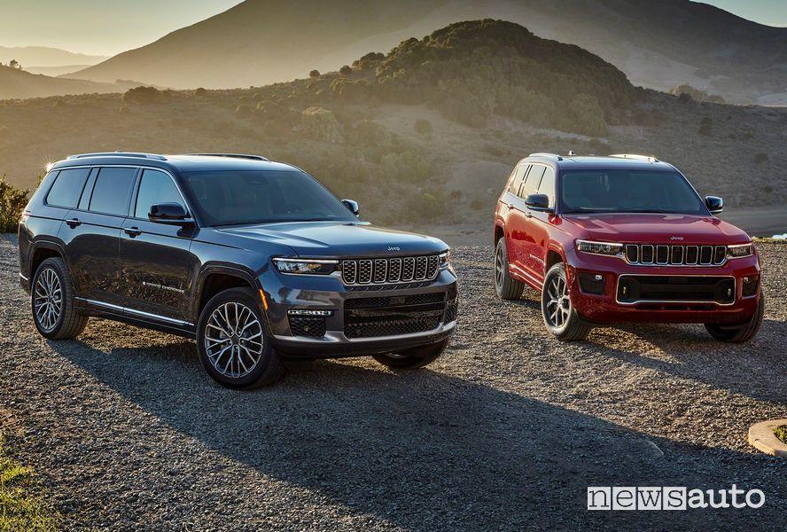 Nuova Jeep Grand Cherokee L Summit e Overland