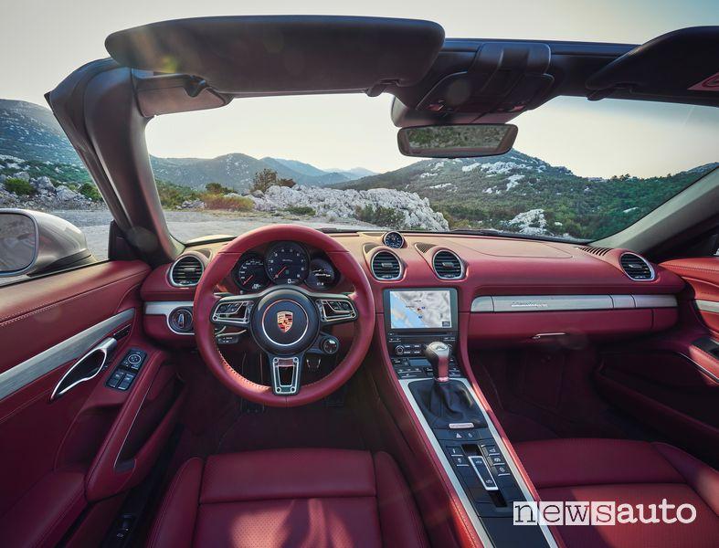 Plancia strumenti abitacolo Porsche 718 Boxster 25 Anni