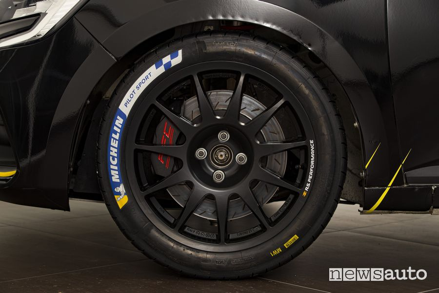 Cerchi, freni Renault Clio Cup Rally4