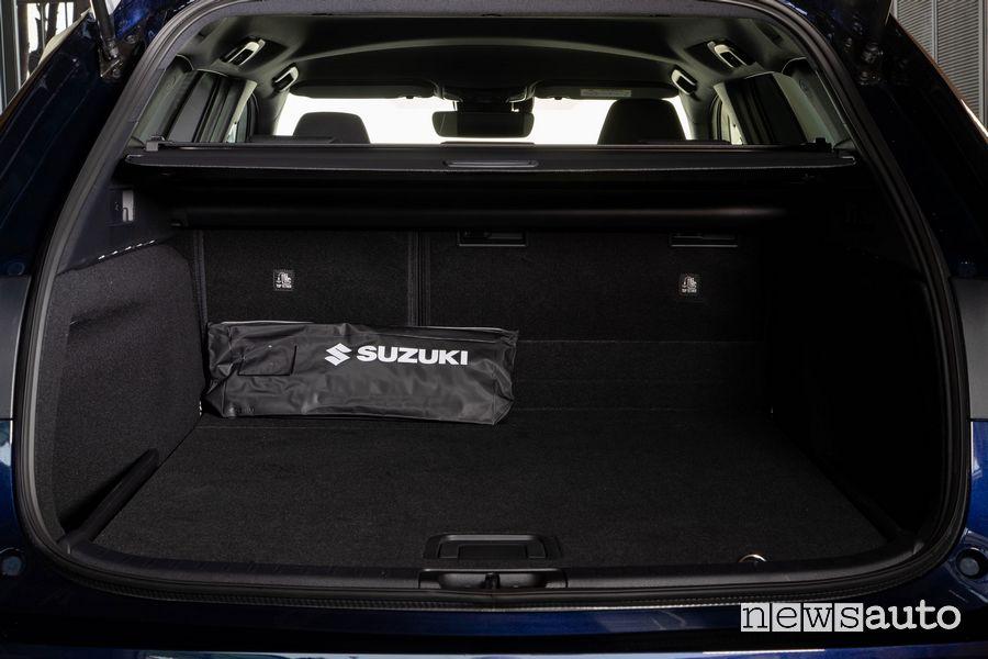 Bagagliaio abitacolo Suzuki Swace Hybrid