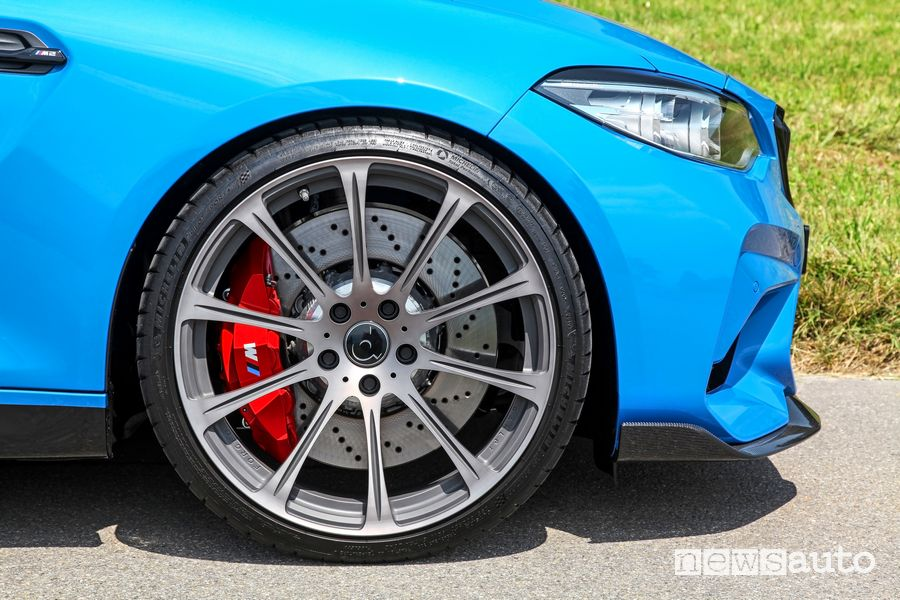 """Cerchi in lega da 20"""" in finitura grigio titanio dÄHLer BMW M2 CS DCL"""