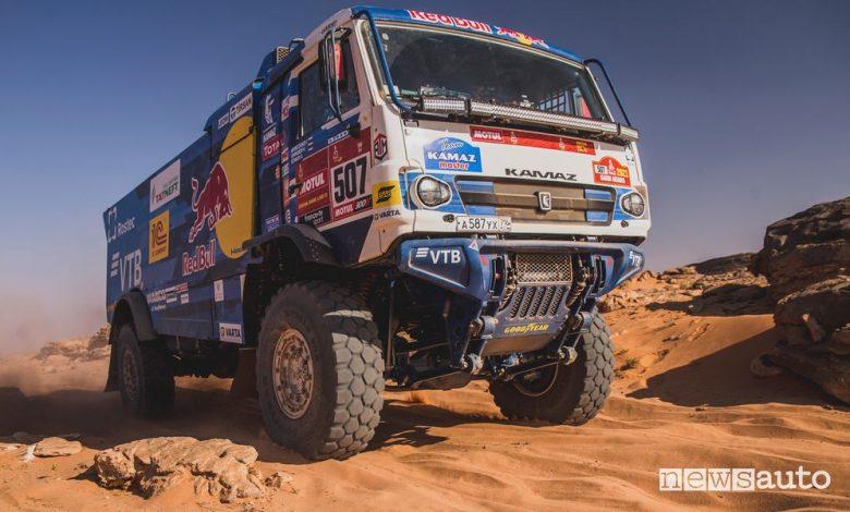 Dakar 2021 classifica finale camion, vittoria Kamaz