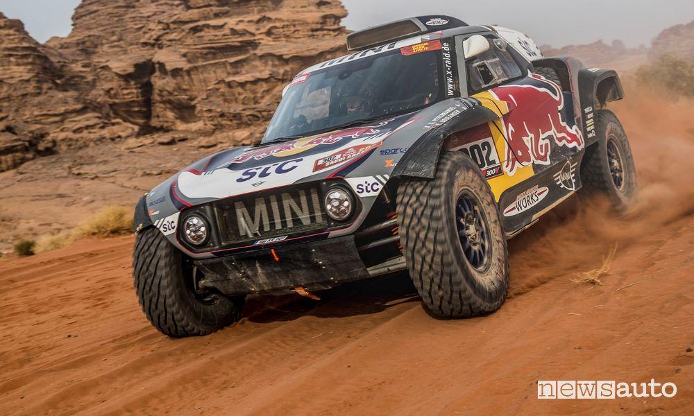 Pneumatici per la Dakar, caratteristiche del buggy Mini John Cooper Works di Peterhansel