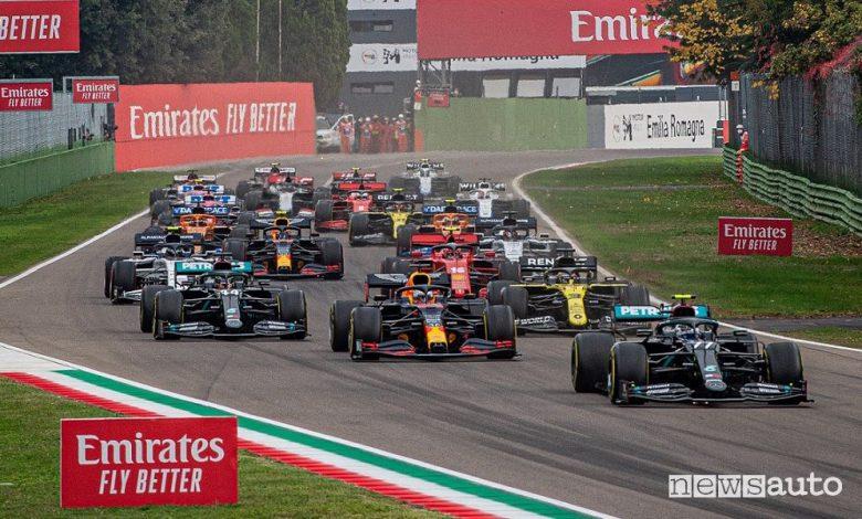 Orari Gp Emilia Romagna F1 2021 a Imola, diretta SKY e TV8