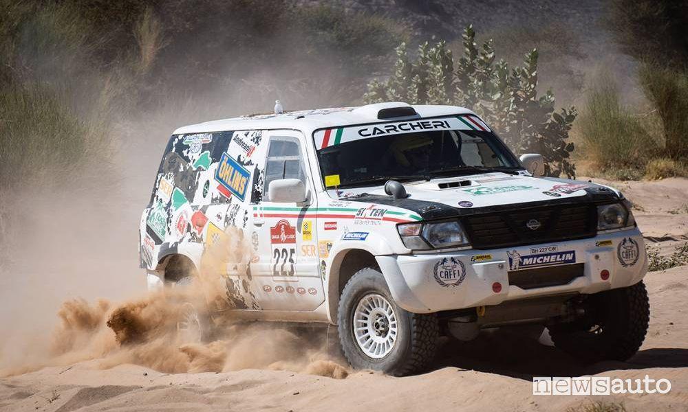 Nissan Patrol di Luciano Carcheri e Roberto Musi Dakar 2021 Classic