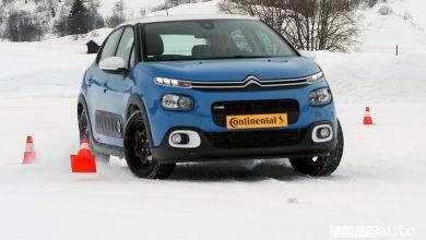 Pneumatici invernali, 4 stagioni e catene, test sulla neve