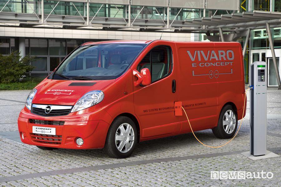 Opel Vivaro-e Concept del 2014