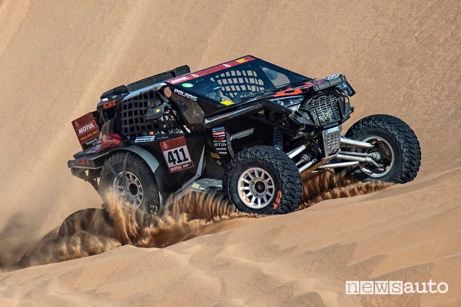 Il Team Extreme+ alla Dakar 2021 ha utilizzato pneumatico CST Apache sul Quad SSV sul Polaris