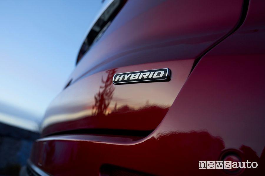 Badge Hybrid portellone posteriore Ford S-Max Hybrid