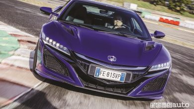 Photo of Auto sportiva ibrida, la prova della supercar Honda NSX in pista