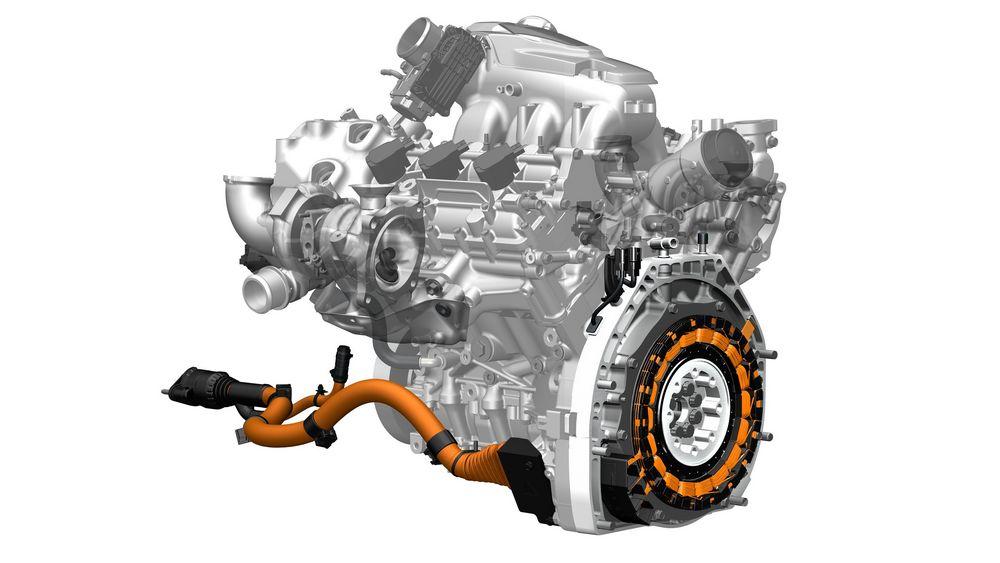 Motore benzina Twin-turbo V6 Honda NSX