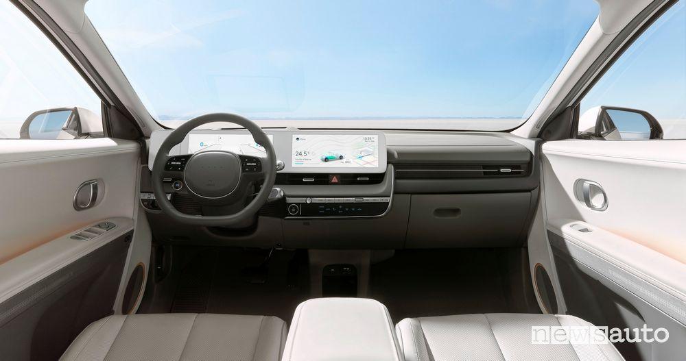 Plancia strumenti abitacolo nuova Hyundai Ioniq 5