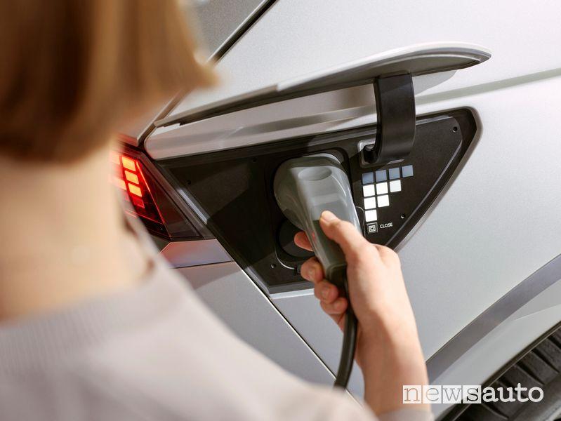 Hyundai Ioniq 5 prevede la funzione V2L bidirezionale