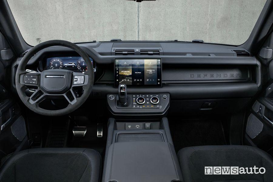 Plancia strumenti abitacolo Land Rover Defender V8 110