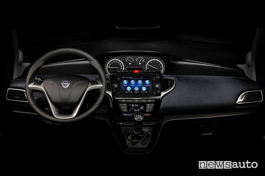 Plancia strumenti abitacolo nuova Lancia Ypsilon EcoChic