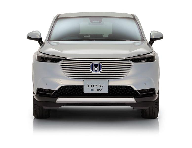 Frontale Honda HR-V e:HEV 2021