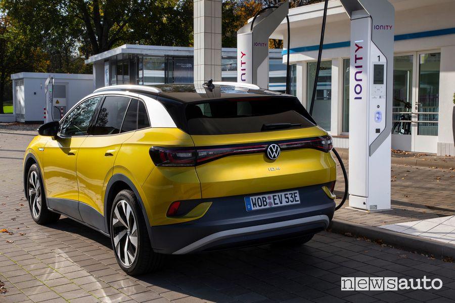 Volkswagen ID.4 1ST ricarica rapida Ionity