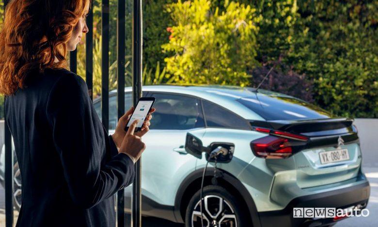 App MyCitroën, funzione temperatura ideale in auto