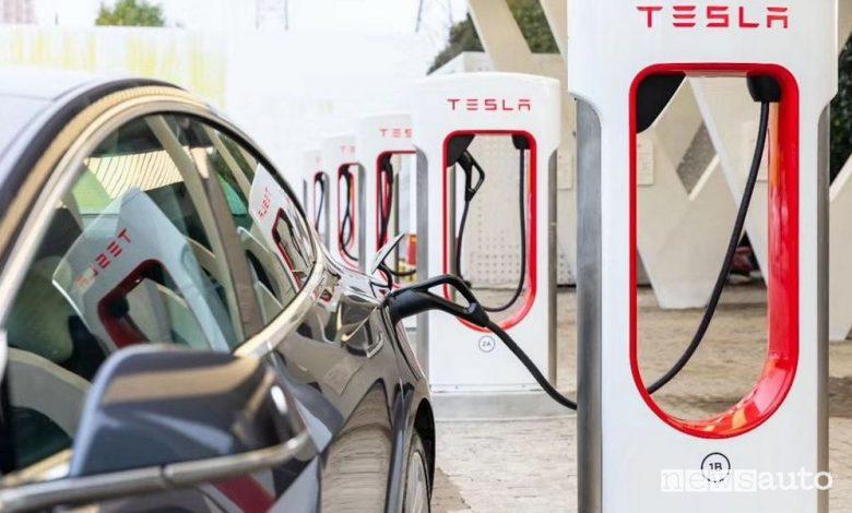 Nuovi Supercharger Tesla a Roma, mappa aggiornata