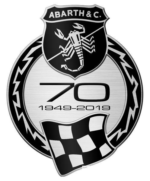 Logo Abarth 70° Anniversario