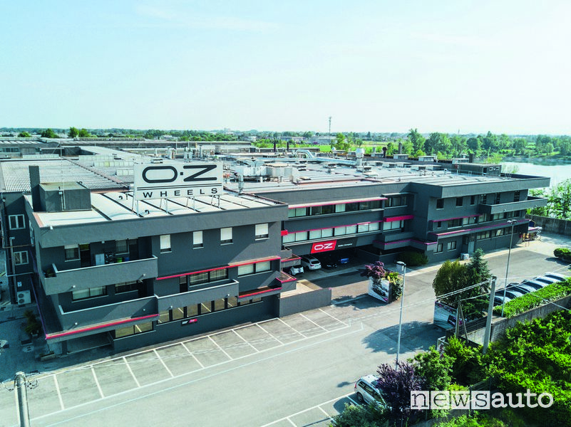 50 anni OZ Racing: nuova sede nel 2016 OZ Racing di San Martino di Lupari a Padova