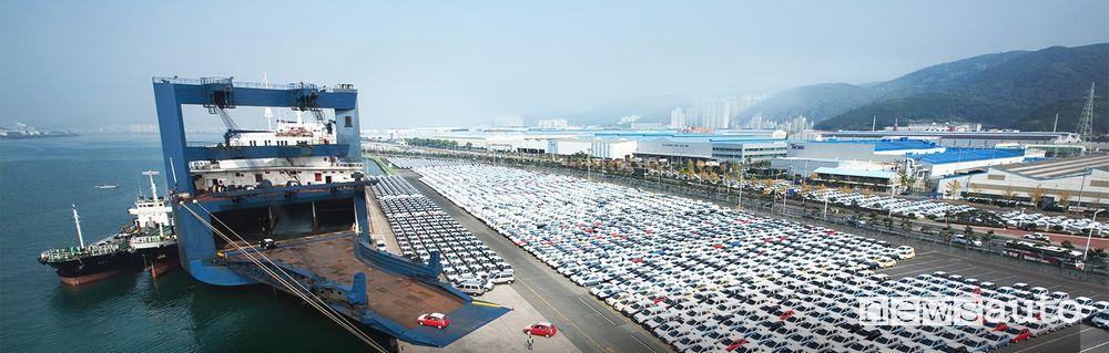 3) Fabbrica Hyundai 5,5 km²