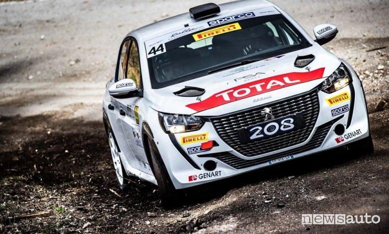 Rally Il Ciocco 2021, vittoria Hyundai e Peugeot