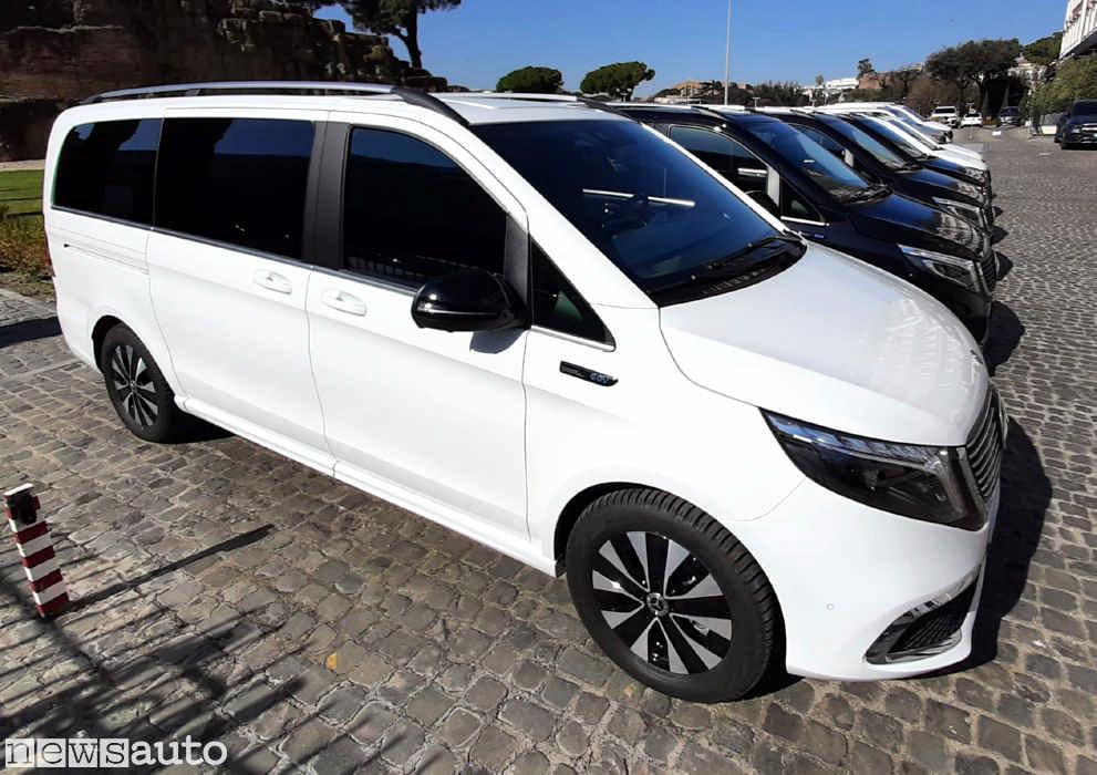 Mercedes EQV elettrico Long ed Extralong