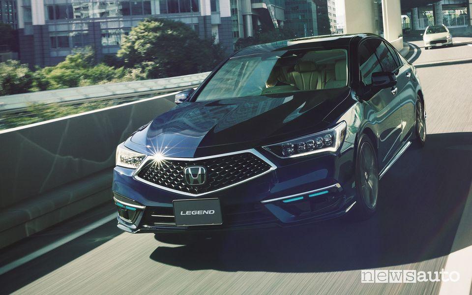 Honda Legend EX SENSING Elit di guida autonoma di livello 3