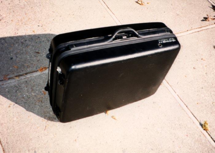 La valigia motorizzata chiusa di Mazda