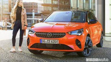 Autonomia Opel Corsa-e