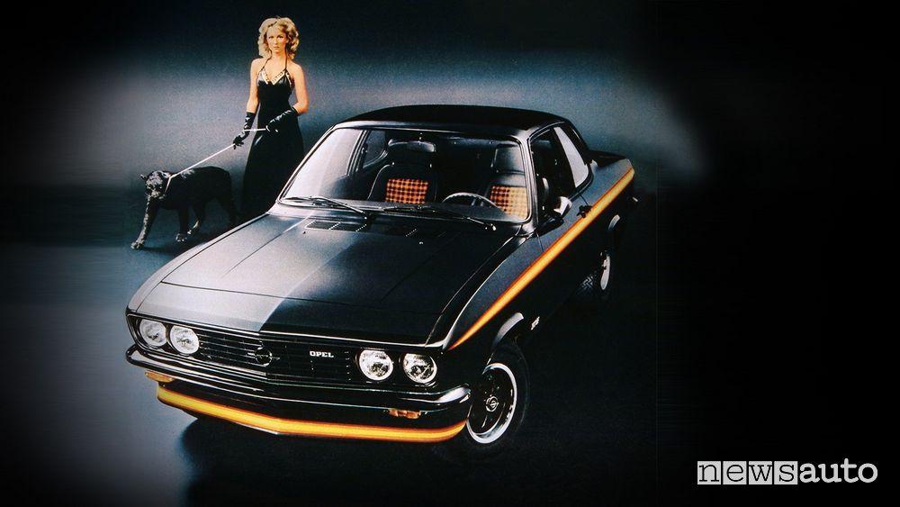 Opel Manta A GT/E Black Magic