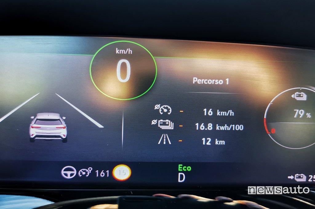 Consumo corrente Opel-Mokka-e
