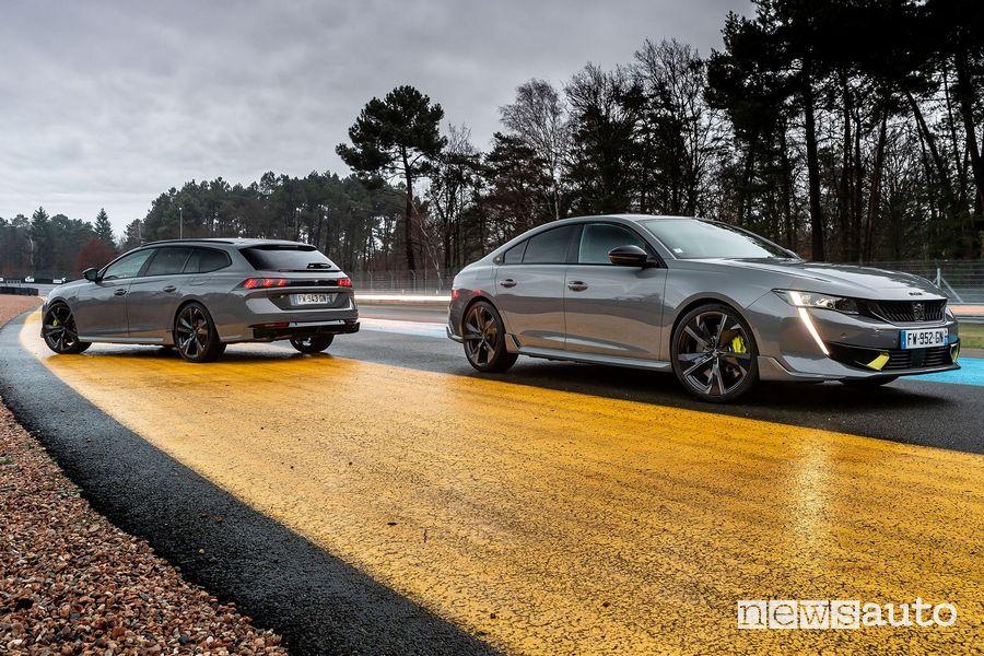 Nuova Peugeot 508 Sport Engineered fastback e SW